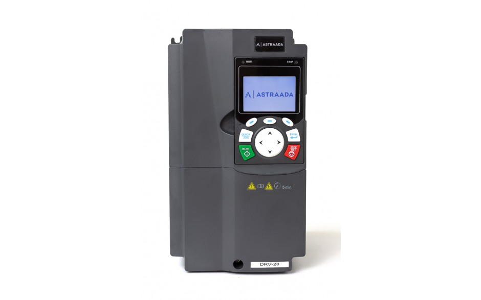 Falownik do silnika 7.5 kW wektorowy, STO, filtr EMC, panel LCD