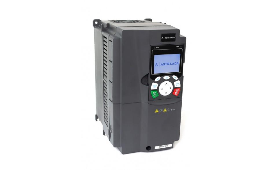 Falownik do silnika 7.5 kW wektorowy, STO, filtr EMC, panel LCD 3