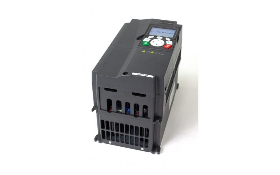 Falownik do silnika 7.5 kW wektorowy, STO, filtr EMC, panel LCD 4