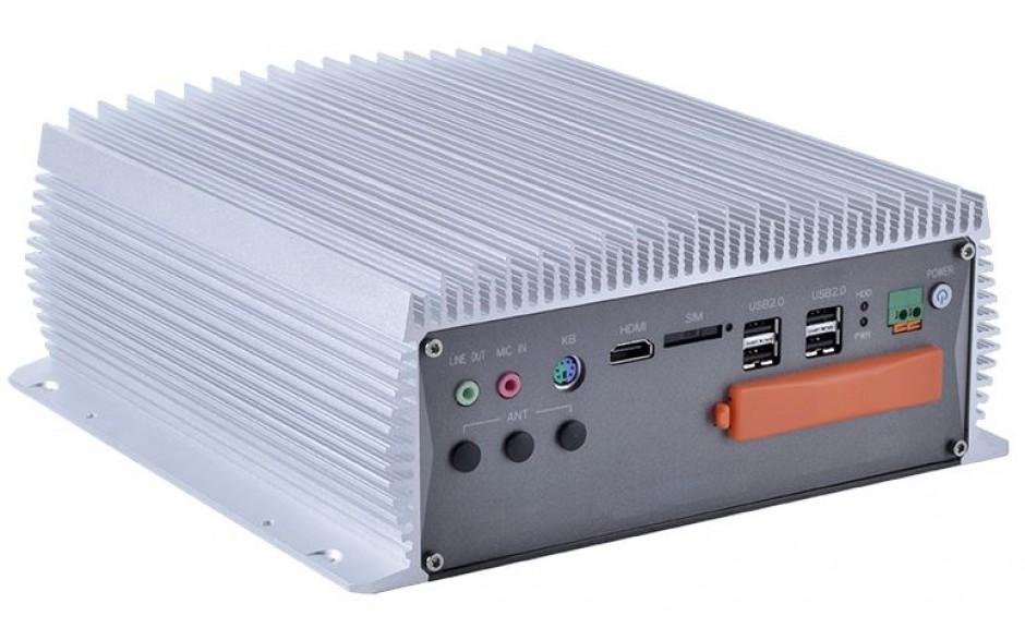 Komputer przemysłowy typu BOX, Intel i5-7400, 16GB RAM, SATA SSD 512 GB, WIN10-PRO/64/ENG, 1x PCIe, 4x RS232, 2x RS232/485, 4x USB 2.0, 4x USB 3.0, 2x LAN 2