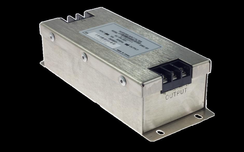 Filtr wejściowy klasy C2 do falownika 0.2/0.4 kW, zasilanie 230V