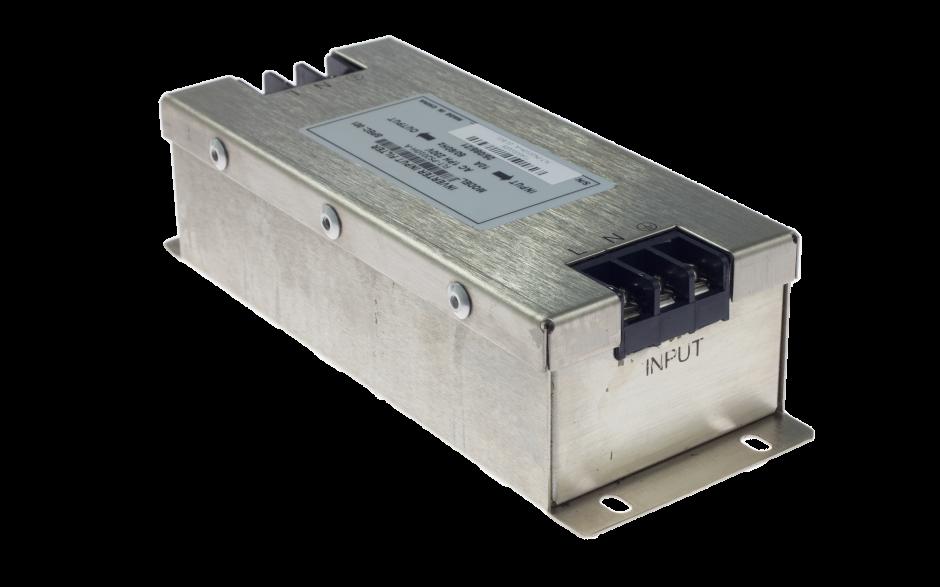 Filtr wejściowy klasy C2 do falownika 0.2/0.4 kW, zasilanie 230V 2