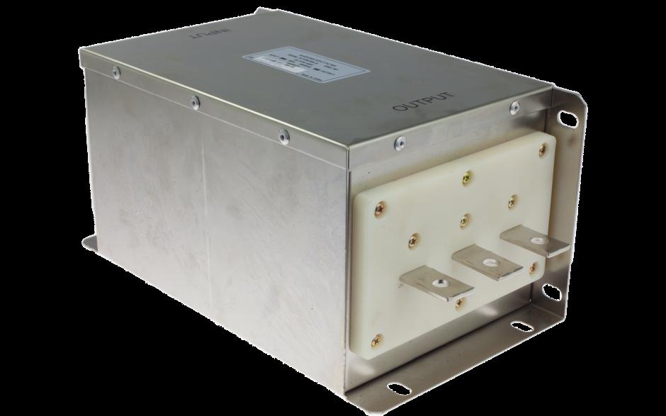Filtr wejściowy klasy C2 do falownika 75/90/110 kW, zasilanie 3x400 V