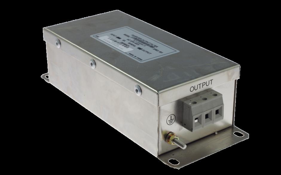 Filtr wejściowy do przemiennika częstotliwości 0.75/1.5 kW, zasilanie 3x400 V
