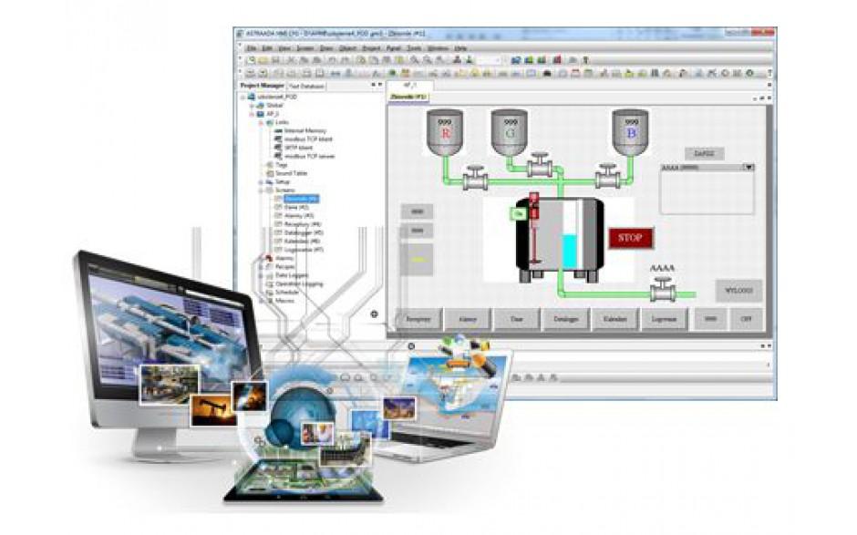 """E-szkolenie """"Panele operatorskie Astraada HMI"""" - podstawy tworzenia aplikacji"""