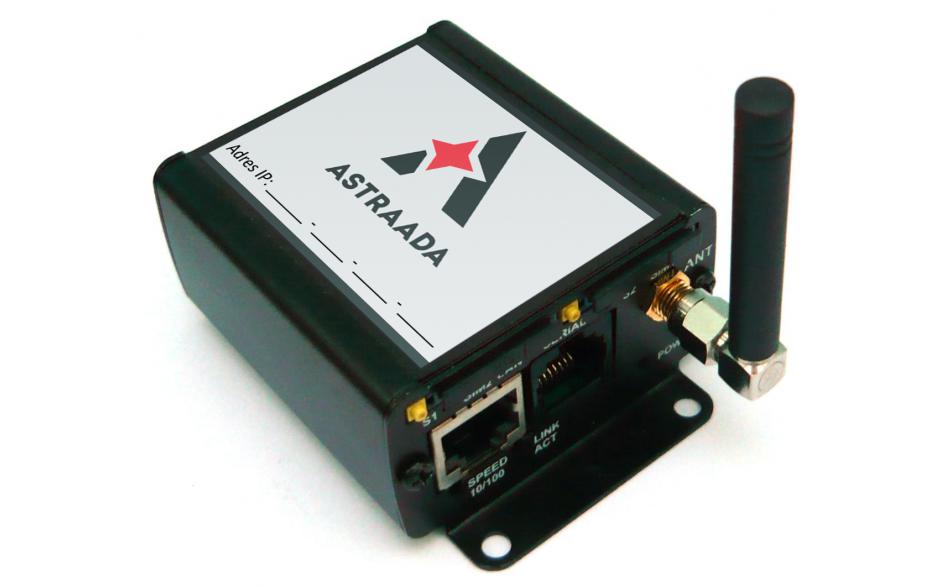 Wyprzedaż - Router 3G przemysłowy (UMTS); RS232, RS485, Ethernet