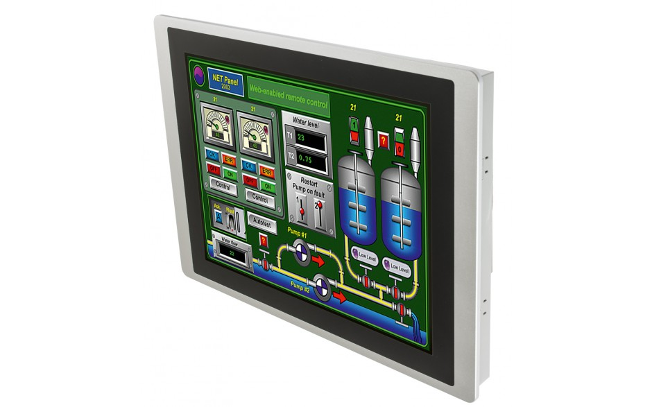 "Dotykowy panel operatorski Astraada HMI, matryca TFT 15"" (1024x768, 65k), RS232/422/485, RS422/485, RS232, USB Client/Host, Ethernet, MicroSD 4"