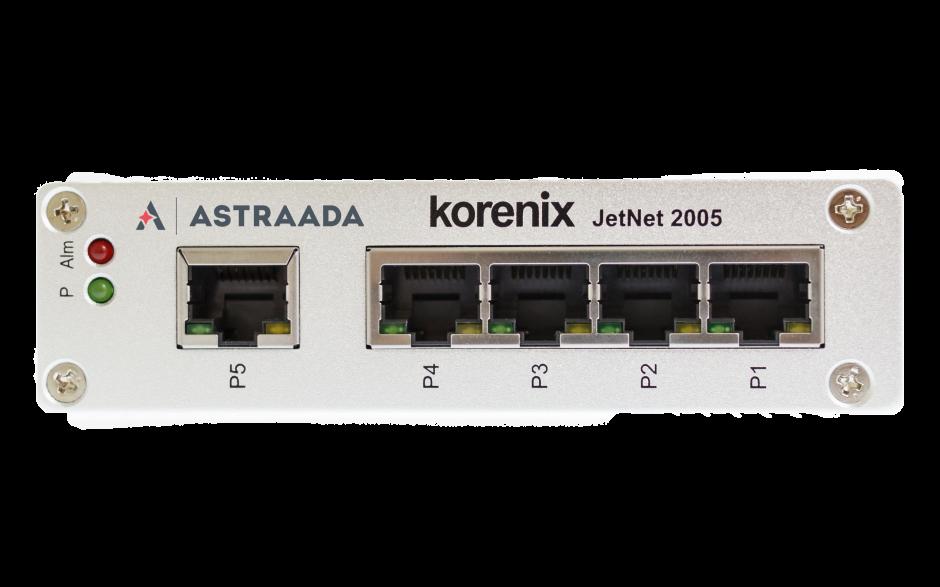 Switch przemysłowy, niezarządzalny, Ethernet - 5xRJ45 (10/100 Base-TX), poszerzony zakres temperatur 2