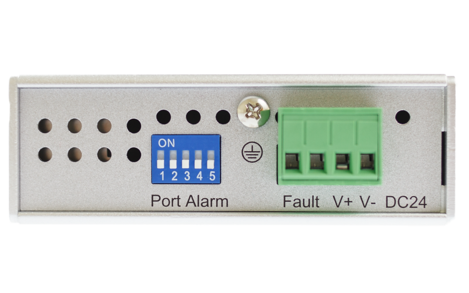 Switch niezarządzalny przemysłowy, Ethernet - 5-portowy (10/100 Base-TX) 4