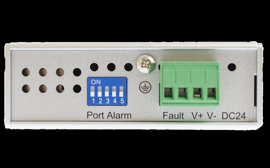 Switch przemysłowy, niezarządzalny, Ethernet - 5xRJ45 (10/100 Base-TX), poszerzony zakres temperatur 3