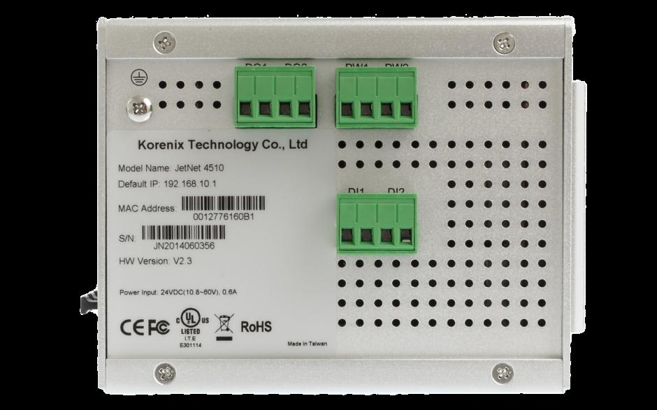 Switch zarządzalny przemysłowy, Ethernet - 10-portowy (7 x 10/100 Base-TX + 3 x RJ45/SFP  - 100 Base-X), RING, Modbus TCP 2