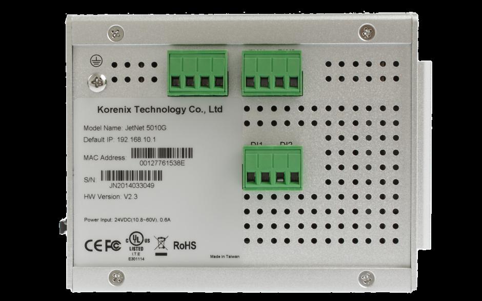 Switch zarządzalny przemysłowy, Ethernet - 10-portowy (7 x 10/100 Base-TX + 3 x RJ45/SFP  - 100/1000 Base-X), RING, Modbus TCP 2