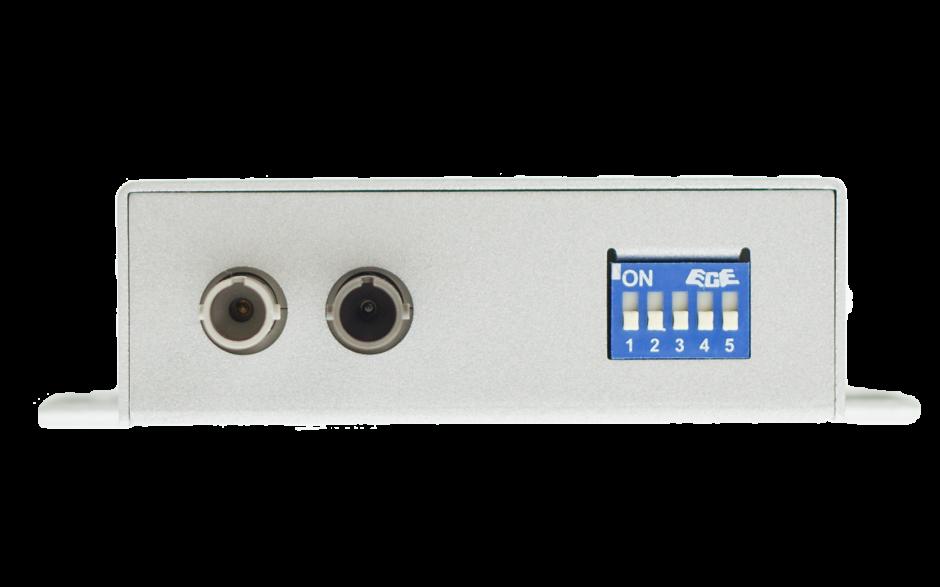 Konwerter RS232-RS422-485 na światłowód jednomodowy ST, 40km 2