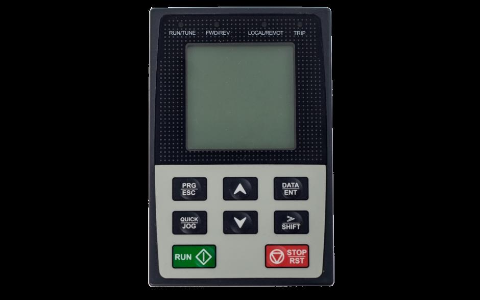 Panel z wyświetlaczem LCD do serii DRV-25/26 i DRV-27 2