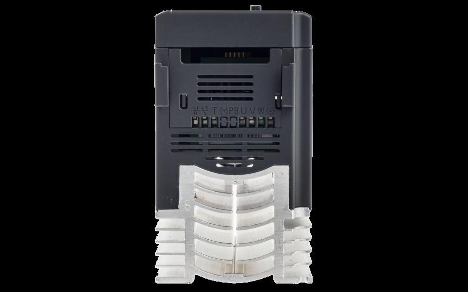Falownik jednofazowy 0.75 kW, wbudowany panel sterowania LED i port RS-485 2