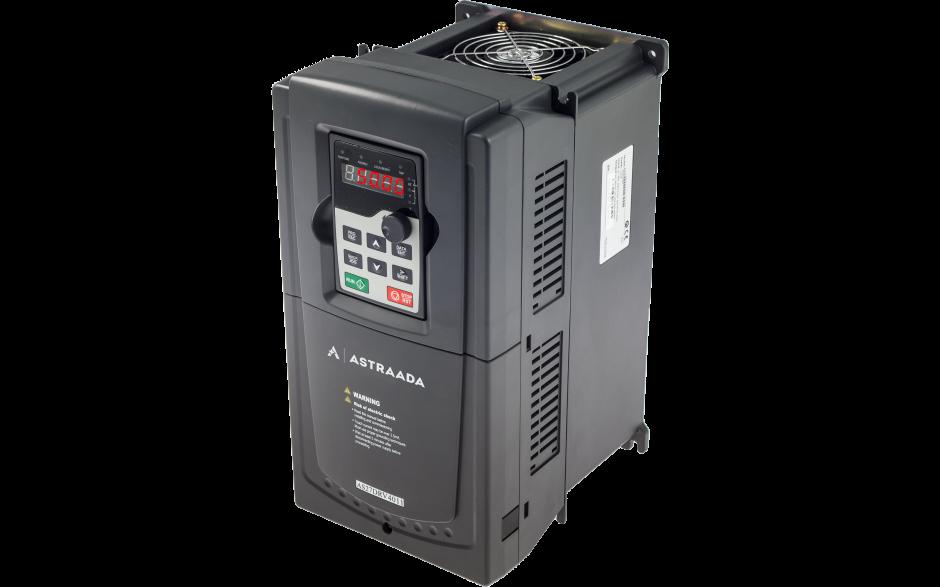 Wyprzedaż - Falownik trójfazowy wektorowy 7.5 kW, filtr EMC 2
