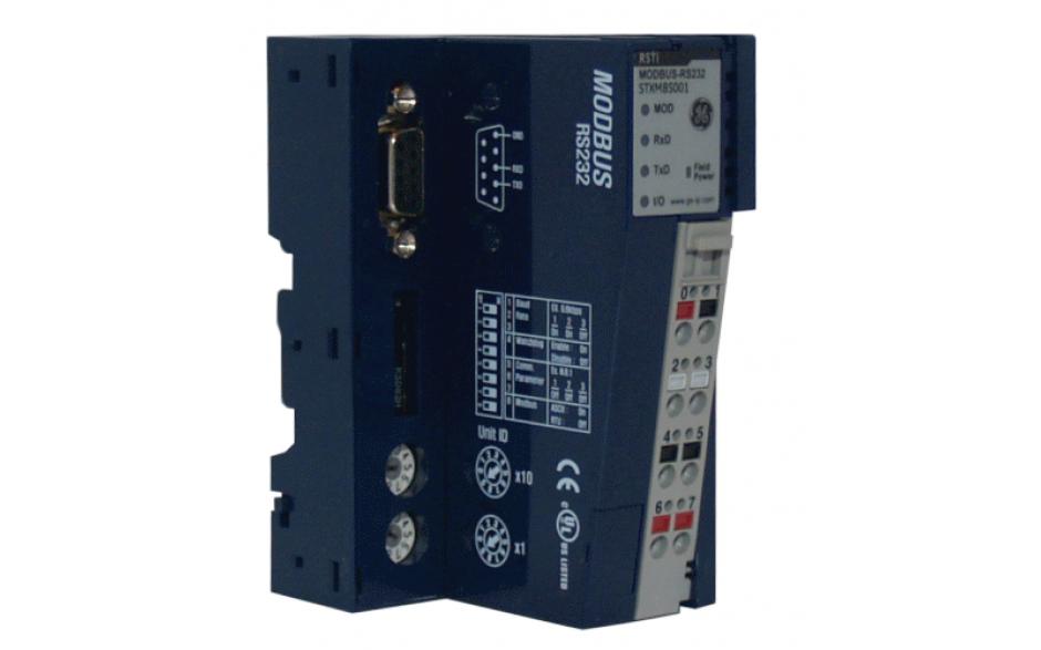 Interfejs komunikacyjny Modbus RTU RS232 do budowania węzła oddalonych wejść-wyjść
