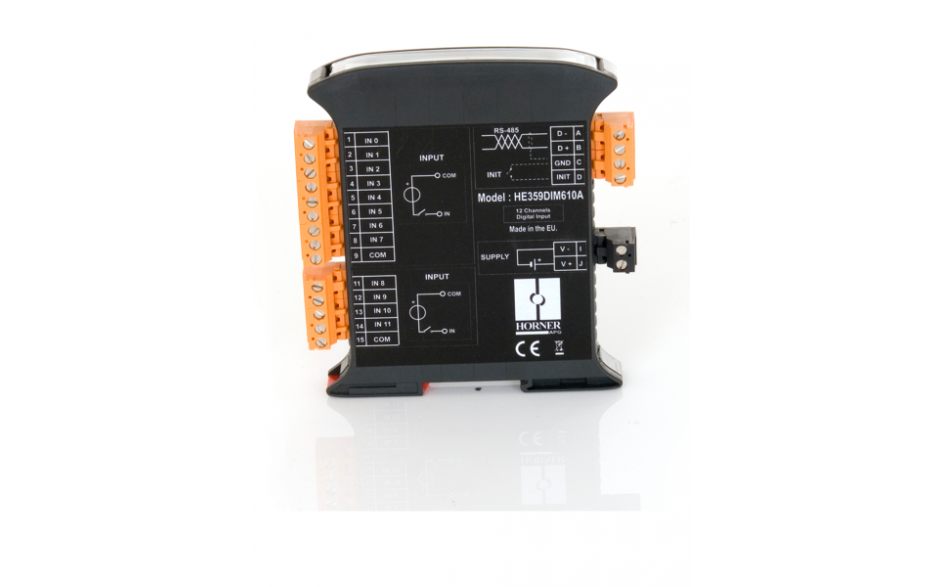 SmartMod; 8 wejść analogowych termoparowych rozdzielczość 16 bitów; komunikacja Modbus RTU 7