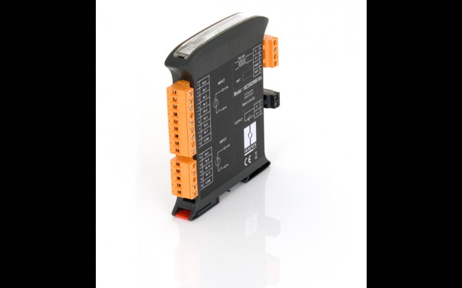 SmartMod; 4 wejścia analogowe napięciowe; rozdzielczość 16 bitów; komunikacja Modbus RTU 5