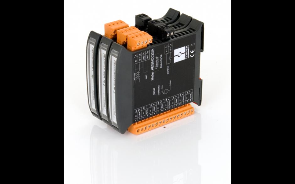 SmartMod; 4 wejścia analogowe napięciowe; rozdzielczość 16 bitów; komunikacja Modbus RTU 8