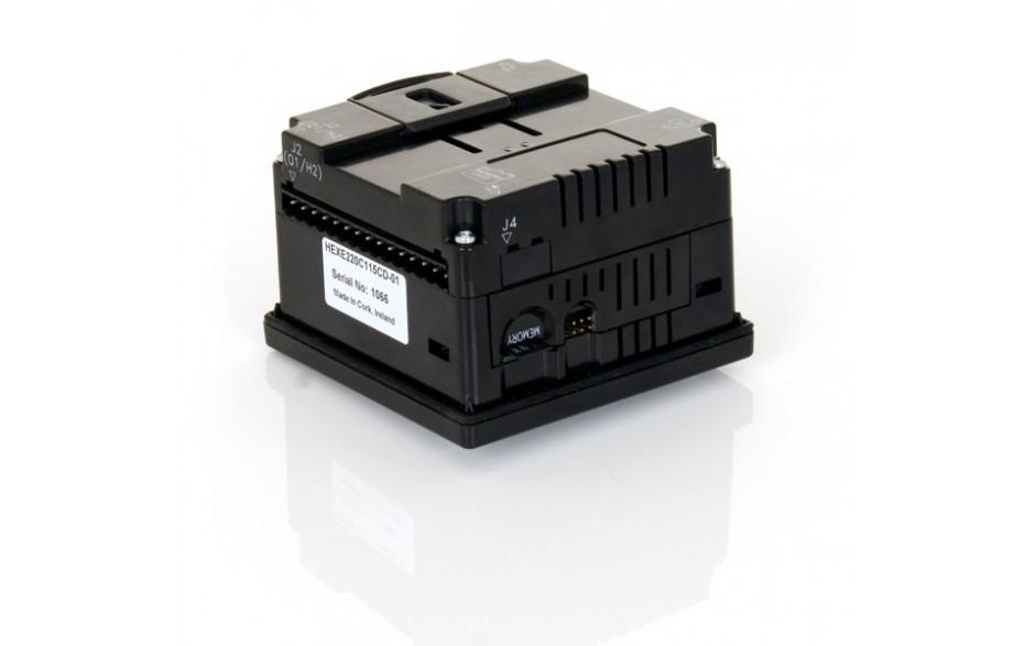 "Sterownik PLC z HMI XLe - 2.25"", CAN; 12 DI (12/24VDC), 12 DO (24VDC), 6 AI (0-10V, 0-20mA, TC, RTD), 4 AO (0-10V, 0-20mA); zasilanie 9-30VDC 3"