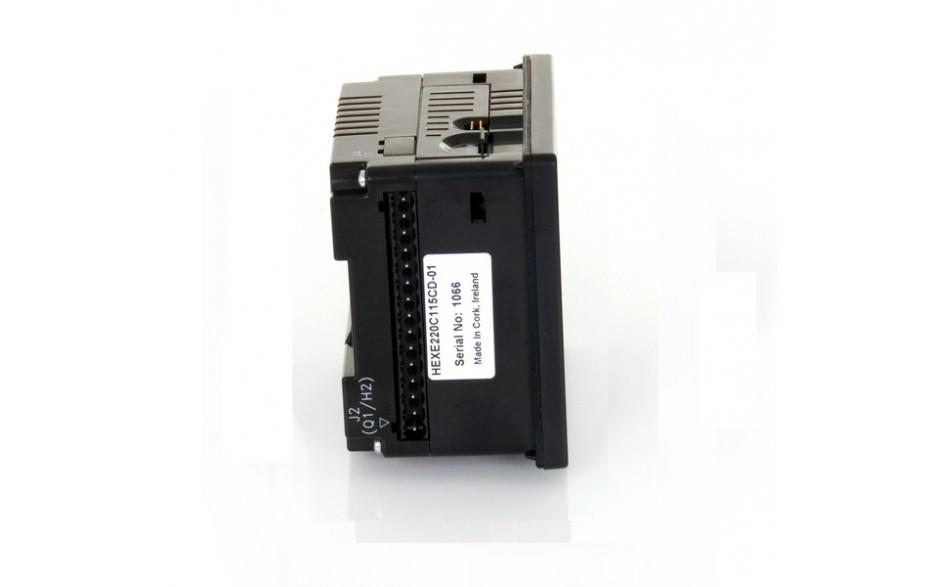 "Sterownik PLC z HMI XLe - 2.25"", CAN; 24 DI (24VDC), 16 DO (24VDC), 2 AI (0-10V, 0-20mA); zasilanie 9-30VDC 5"