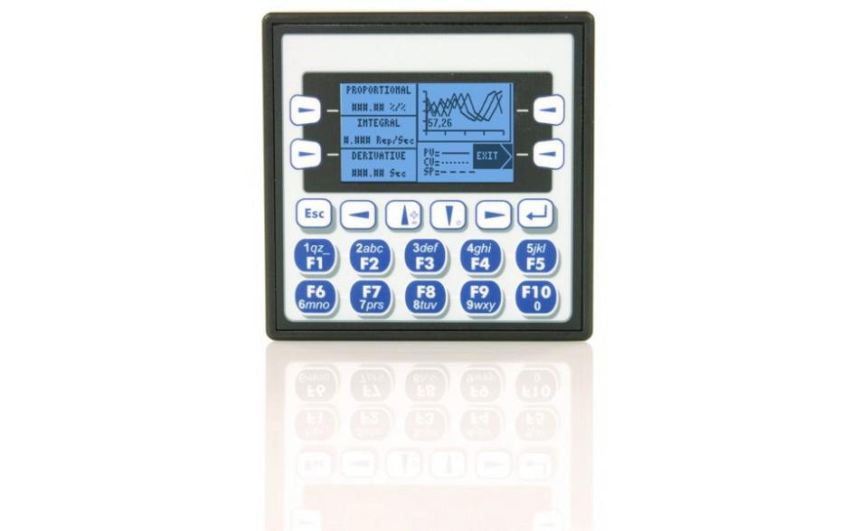 "Sterownik PLC z HMI XLe - 2.25"", CAN; 24 DI (24VDC), 16 DO (24VDC), 2 AI (0-10V, 0-20mA); zasilanie 9-30VDC 7"