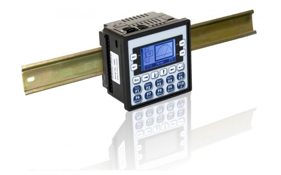 "Sterownik PLC z HMI XLe - 2.25"", CAN; 12 DI (12/24VDC), 12 DO (24VDC), 6 AI (0-10V, 0-20mA, TC, RTD), 4 AO (0-10V, 0-20mA); zasilanie 9-30VDC 9"