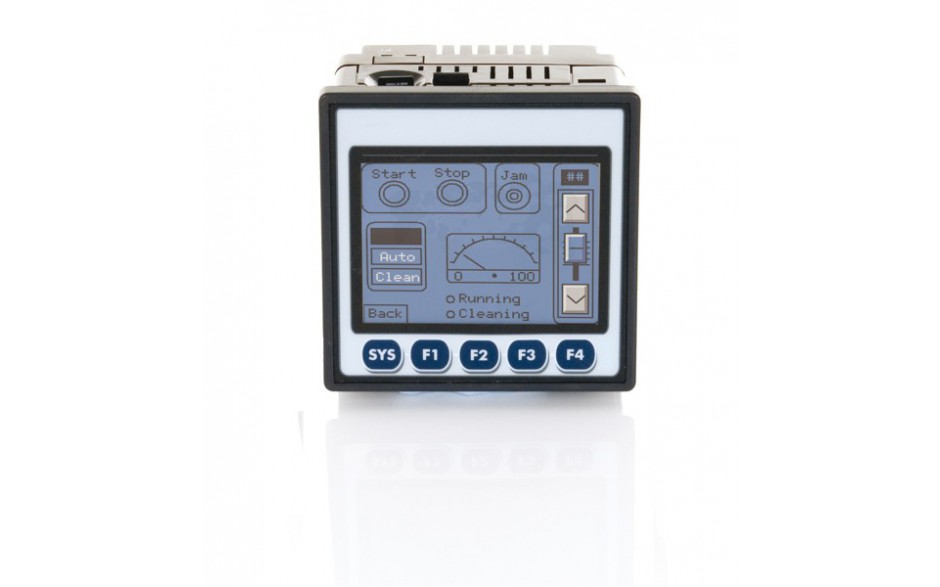 """Sterownik PLC z HMI XLt - 3.5"""", 12 DI (24VDC), 6 DO (relay 2A), 4 AI (0-10V, 0-20mA); zasilanie 9-30VDC 3"""