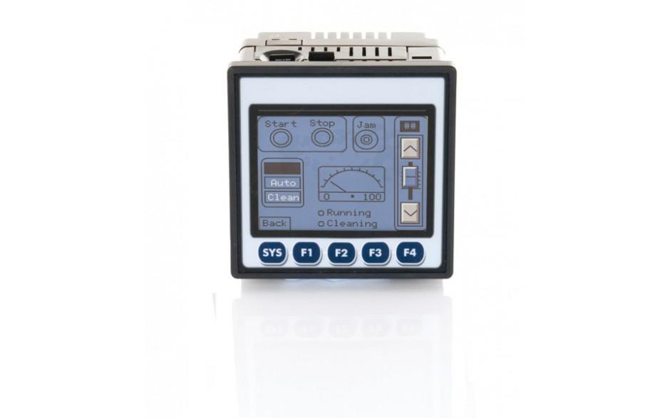"Sterownik PLC z HMI XLt - 3.5"", 12 DI (24VDC), 12 DO (24VDC), 2 AI (0-10V, 0-20mA, TC, RTD), 2 AO (0-10V, 0-20mA); zasilanie 9-30VDC 2"