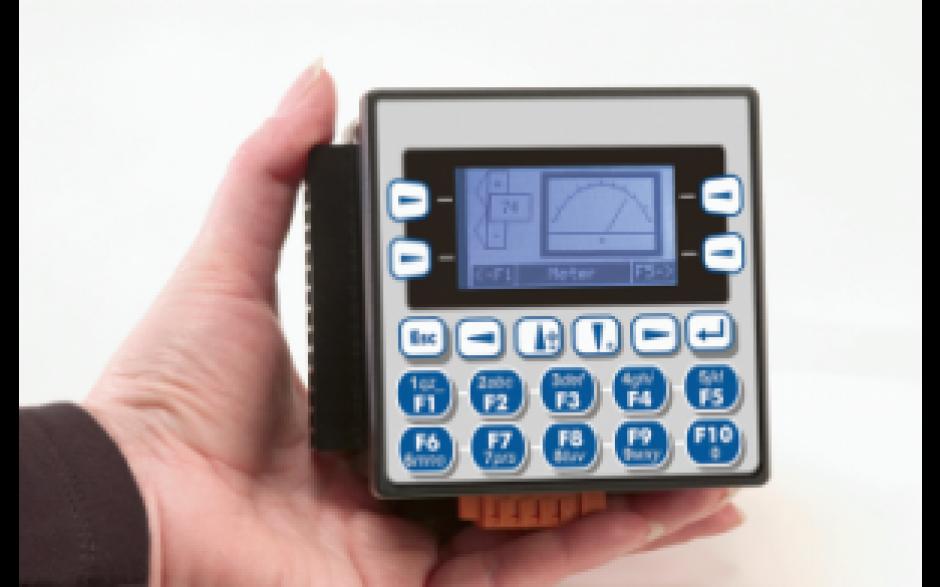 """Zestaw startowy z e-szkoleniem - Sterownik PLC z HMI XLe; 2,25"""" + IO 8"""