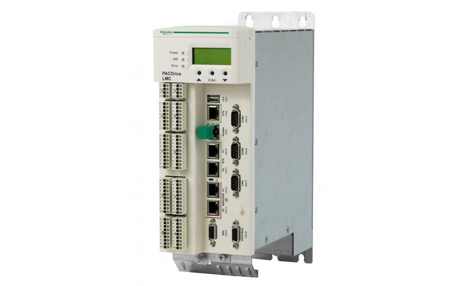 Kontroler serii Pro LMC300 512MB RAM/FLASH; Intel Celeron M 1,5GHz; 8 osi; 2xEth Gb; USB; USB-B; 2xSercos; 20xDI; 16xDO