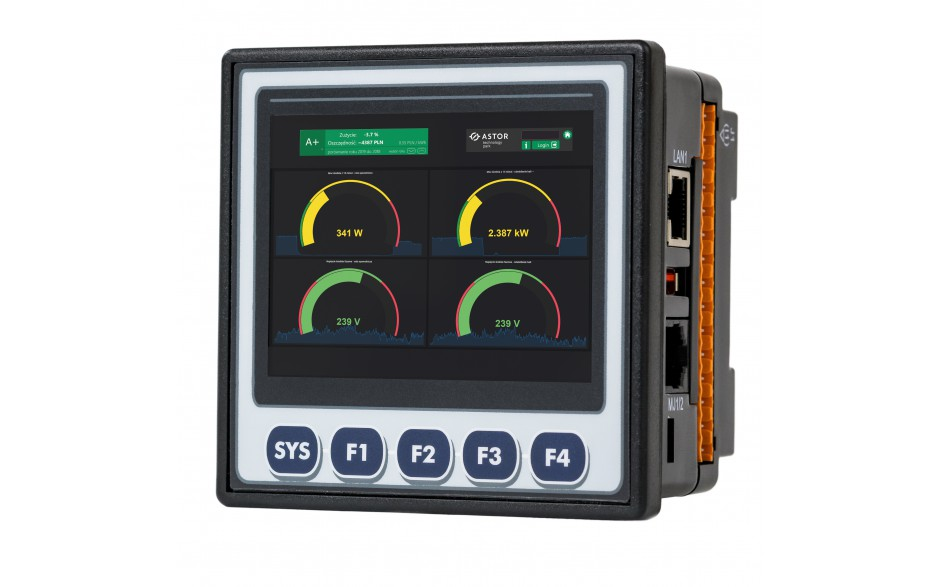 "PROMOCJA - Sterownik PLC z HMI XL4e - 3.5"", 24 DI (24 VDC), 16 DO (24 VDC), 2 AI (0-10V, 0-20mA); zasilanie 9-30VDC"