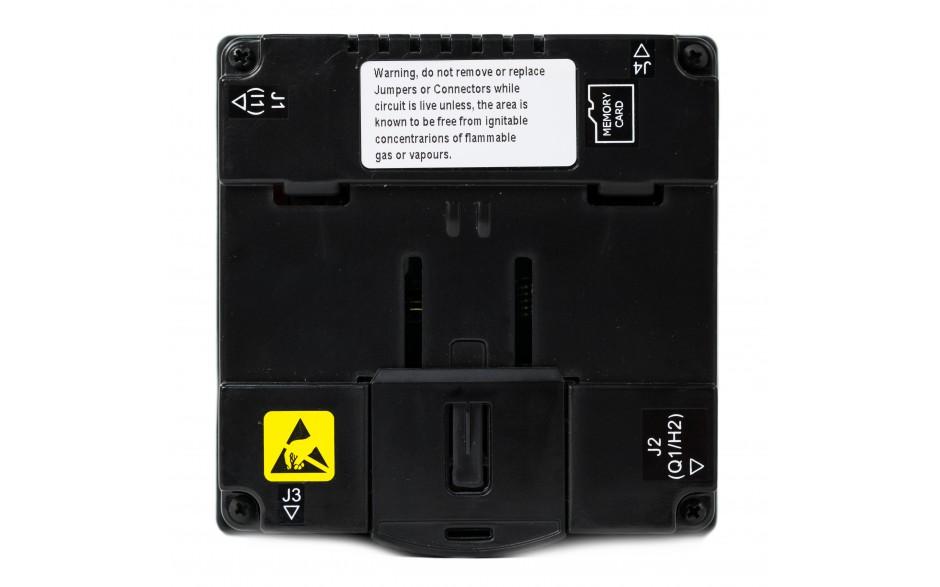 "Sterownik PLC z HMI XL4e - 3.5"", 12 DI (24 VDC), 6 DO (przekaźnikowe 2A), 4 AI (0-10V, 0-20mA); zasilanie 9-30VDC 2"