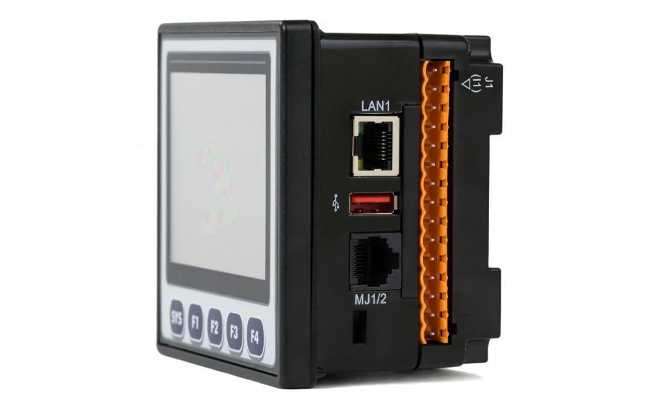 "Sterownik PLC z HMI XL4e - 3.5"", 24 DI (24 VDC), 16 DO (24 VDC), 2 AI (0-10V, 0-20mA); zasilanie 9-30VDC 12"