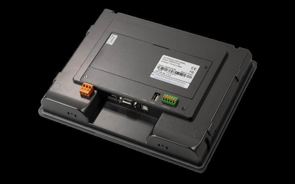 "Dotykowy panel operatorski Astraada HMI, matryca TFT 10,1"" (1024x600, 65k), RS232, RS422/485, 3x RS485, USB Client/Host, Ethernet, 30m gwarancji 3"