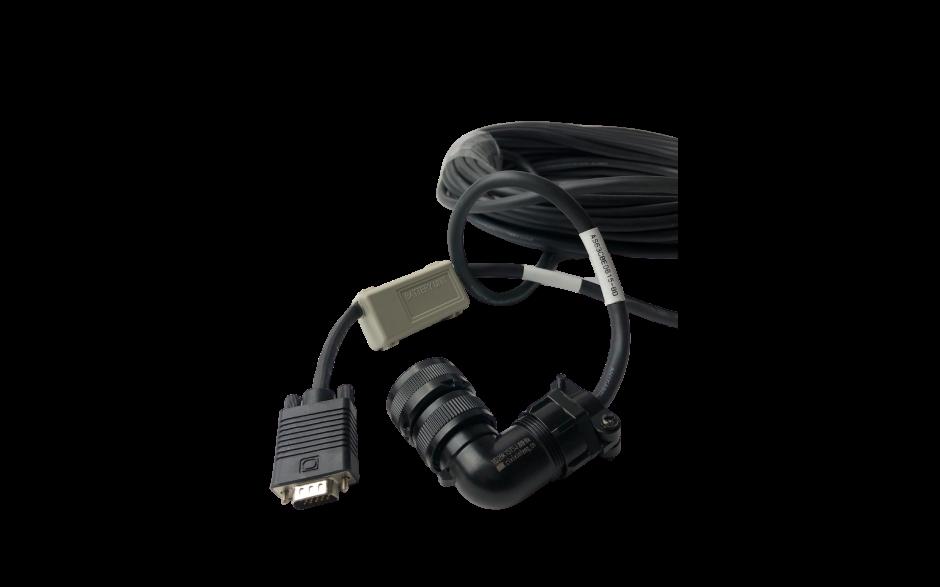 Kabel 10m z baterią do enkodera absolutnego silnika 1kW, 230V; 2…5.5kW, 400V