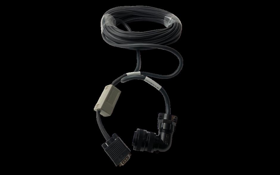 Wyprzedaż - Kabel 5m z baterią do enkodera absolutnego silnika 0.2…0.75kW, 230V 2