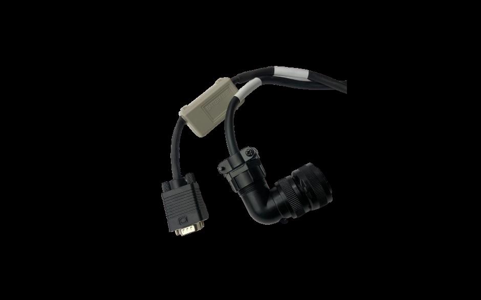 Wyprzedaż - Kabel 5m z baterią do enkodera absolutnego silnika 1kW, 230V; 2…5.5kW, 400V 3