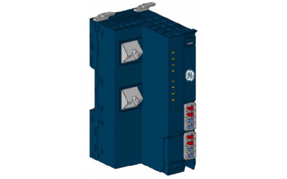 RSTi-EP - interfejs komunikacyjny Modbus TCP Server; 2x RJ45; 1024B (input + output)