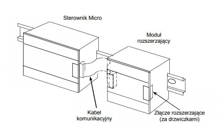 Kabel do expandera VersaMax Micro, 0.1 m (5szt) 2