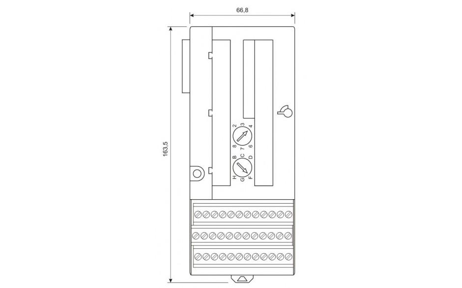VersaMax - Kaseta montażowa do pionowego montażu modułów 2