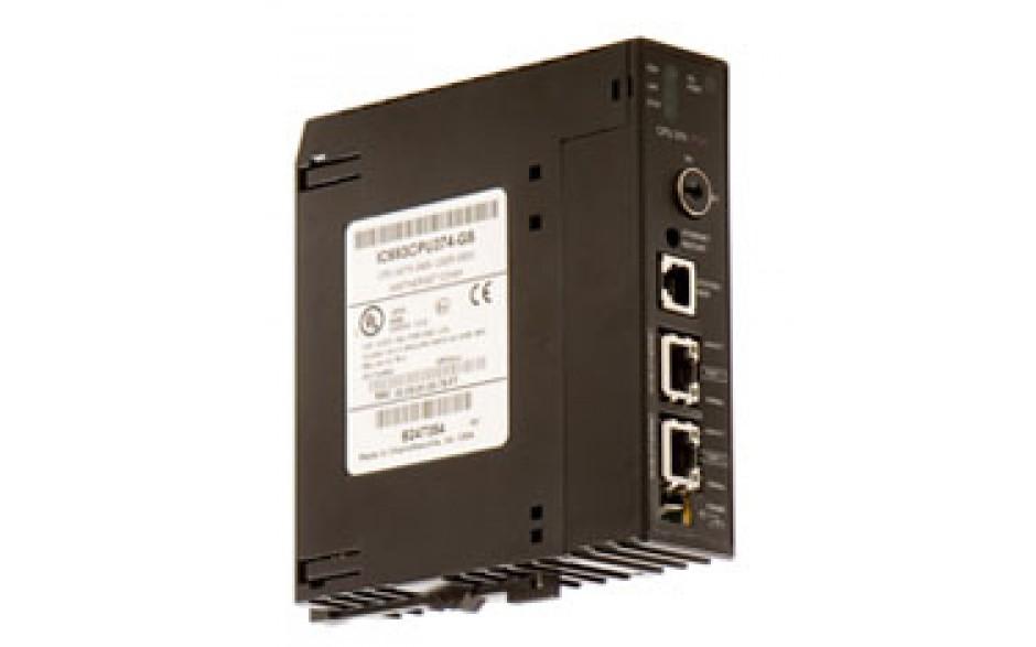 90-30 - CPU PLUS; 240 kB pamięci progr. i danych (konfig.), 0.15 ms/kB, do 7 kaset roz., koproc. arytm.;  100/10BaseT