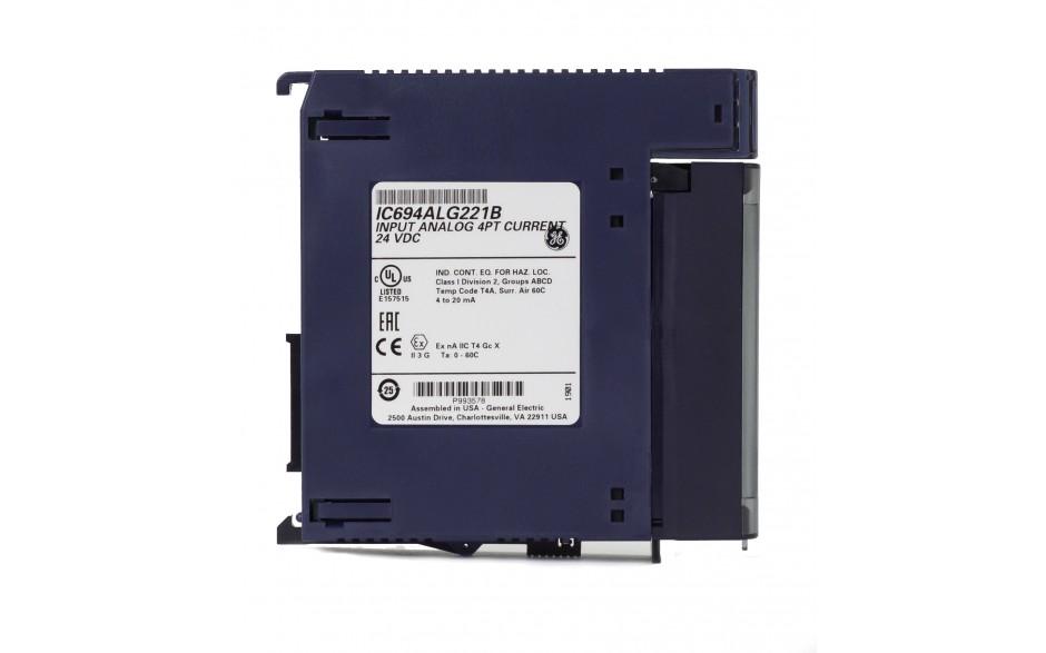 RX3i - 4 wejścia analogowe prądowe (0-20/4-20 mA; 12 bitów) 2
