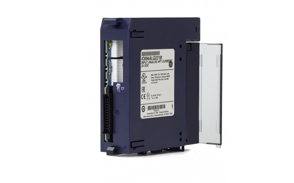 RX3i - 4 wejścia analogowe prądowe (0-20/4-20 mA; 12 bitów) 4
