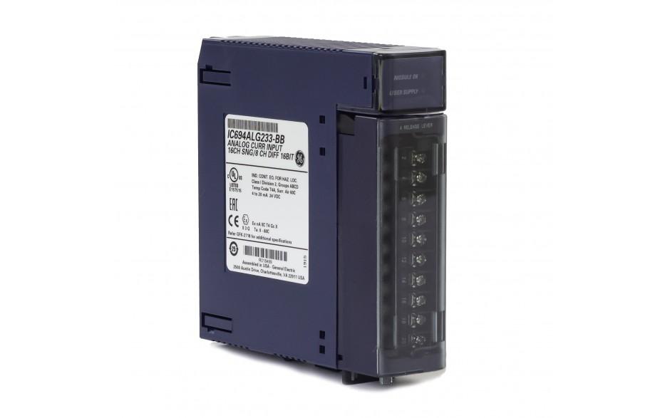 RX3i - 16 wejść analogowych prądowych (0-20/4-20 mA; 16 bitów); diagnostyka 2