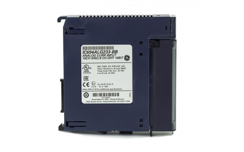 RX3i - 16 wejść analogowych prądowych (0-20/4-20 mA; 16 bitów); diagnostyka 3