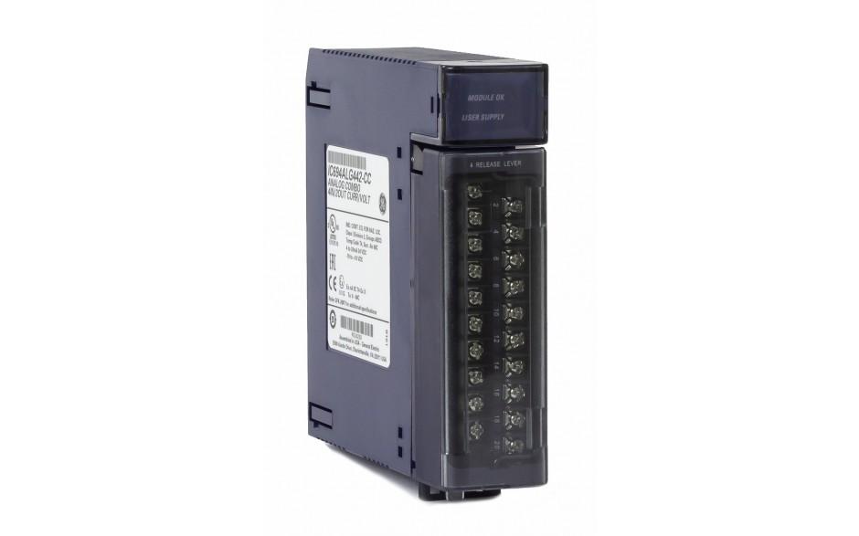 RX3i - 4 wejścia i 2 wyjścia analogowe prądowo-napięciowe (0-20/4-20 mA; 0-10/± 10 V; 15 bitów) 2