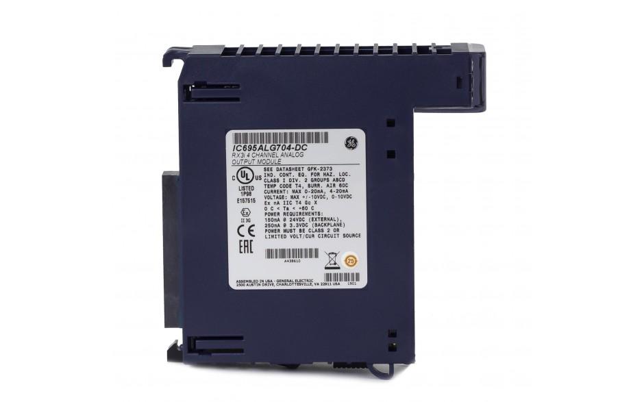 RX3i - 4 wyjścia analogowe prądowo-napięciowe (0-20/4-20 mA; 0-10/±10 V; 16 bitów); diagnostyka 2
