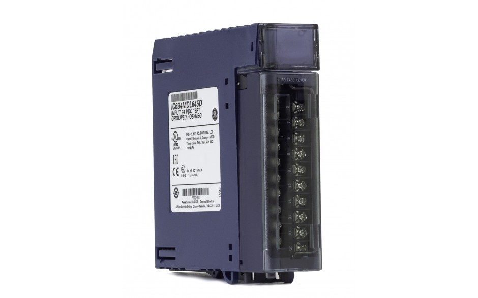 RX3i - Moduł 16 wejść cyfrowych (24 VDC; 7ms; logika dodatnia/ujemna) 2